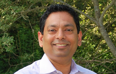 Photograph of Dr. Advait Badkar, Senior Director, Novel Delivery Technologies at Pfizer