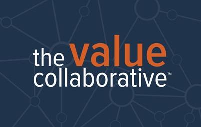 "A graphic reading ""The value Collaborative"" with the word ""value"" in orange text"